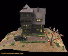 dioramas terraniums polyvore - Halloween Diorama Ideas