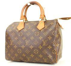 Louis Vuitton (*trusted Tradesy Seller*) Speedy 25 Monogram Satchel.
