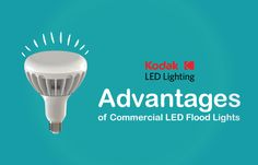 There is lower chance of fire and electricity accidents happening with LED flood lights, so you have a lighting solution that's worth the extra money - KODAK LED Lighting Technology Updates, Led Flood Lights, Research And Development, Lighting Solutions, Energy Efficiency, Extra Money, Offices, Home Improvement, Commercial