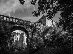 """#Bretagne - #Morbihan : Sainte Barbe - Le #Faouet en noir et blanc (6 photos de 1/200 à 50"""") © Paul Kerrien http://toilapol.net"""