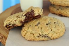 Best Chocolate Chip Cookie Recipe EVER! - Sweet Dreams and Sugar Highs Best Chocolate Chip Cookie Recipe Ever, Chocolate Chip Cookies, Chocolate Chips, Cookie Recipes, Dessert Recipes, Chocolate Desserts, Sweet Tooth, Favorite Recipes, Sweets