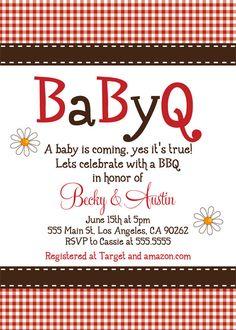 babyq shower invitations