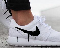 Nike Roshe Run Galaxy Swoosh by QSCustoms on Etsy