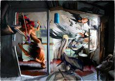 """Giovanni Casu """"Caravaggio in Wedding"""" www.box-32.com"""