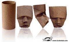 маски от празни ролки