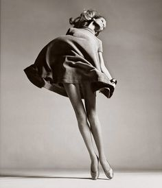 One of the most iconic images in fashion from one of the most iconic photographers in history.  #avedonmagic