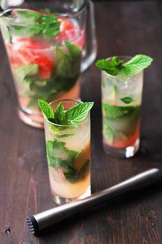Mojito 2 Champagne Grapefruit Pineapple Mojito | Recipe