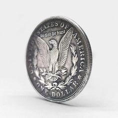 US$ 39.98 - Hand Carved Coins - m.sheinv.com Rare Coins Worth Money, Coin Art, Old Money, Hobo Style, Coin Collecting, Cool Things To Buy, Stuff To Buy, Cool Tools, Gel Pens