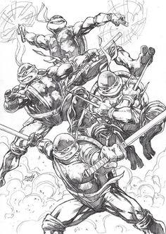 Teenage Mutant Ninja Turtles by Dody Eka *