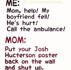 Lol haha funny pics / pictures / Josh Hutcherson / Poster / So True!