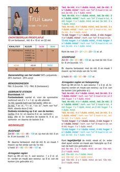 Gratis patroon - Breipatroon trui - Hobbydoos.nl Handmade Christmas Gifts, Knit Fashion, Chrochet, Diy And Crafts, Vest, Knitting, My Style, Blog, Summer Blouses