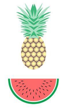 Summer pattern by Aline Houdé-Diebolt, via Behance