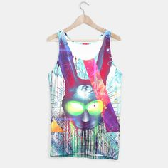 Masquerade Rabb8 Tank Top WH, Live Heroes