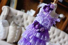 Lavender & Purple Lace Dress Gift Set