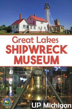 What happened to the Edmund Fitzgerald? Find out all about it and see the ship's bell at the Great Lakes Shipwreck Museum at Whitefish Point in the Upper Peninsula of Michigan. Michigan Vacations, Michigan Travel, Lake Michigan, Museums In Michigan, Shipwreck Museum, Great Lakes Shipwrecks, Family Vacation Spots, Vacation Packing, Family Vacations