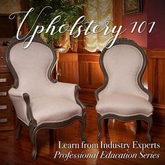 Upholstery Restoration Journey learn how to restore antique chairs video Antique Chairs, Vintage Chairs, Pvc Pipe Crafts, Wood Repair, Matching Paint Colors, Diy Chair, Chair Upholstery, Furniture Makeover, Easy Diy
