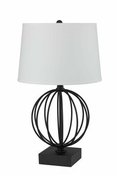 "Delrosario Geometric 28"" Table Lamp"