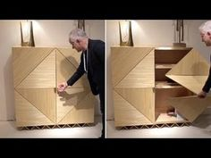 Wood Projects, Projects To Try, Cabinet Inspiration, Petites Tables, Table Design, Doors, Architecture, Project Ideas, 2d