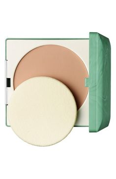 Free shipping and returns on Clinique Stay-Matte Sheer Pressed Powder Oil-Free at Nordstrom.com. Stay-Matte Sheer Pressed Powder is a shine-absorbing, oil-free formula with an ultra-sheer texture that gives skin a perfect matte appearance. It maintains a fresh look and feel, even after frequent touch-ups. It's great for oily skin and oily spots.<br><br>How to use: Apply with a powder brush or the included sponge applicator. It can be used all over your face or just on oily spots. The sponge ...