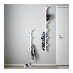 TJUSIG Aufhänger IKEA Verwandelt eine freie Wandfläche in eine praktische Aufbewahrung für Jacken, Taschen usw.