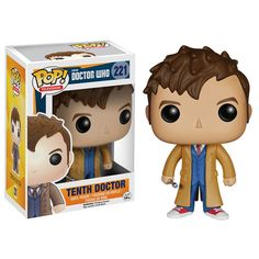 PopVinyls.com unveils the Tenth Doctor from the Doctor Who Funko Pop Vinyl series