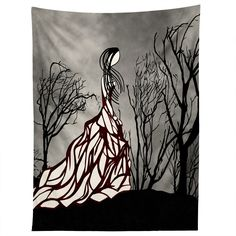 Amy Smith Lost In The Woods Tapestry | DENY Designs Home Accessories - Must Have Her.  #LG Limitless Design Contest