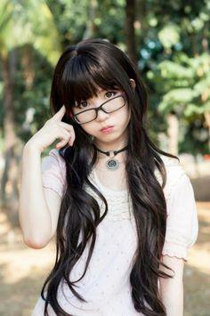Astounding Bangs For Long Hair Japanese Hairstyles And Cute Japanese On Short Hairstyles Gunalazisus