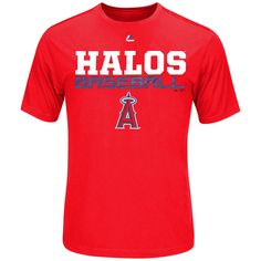 Los Angeles Angels of Anaheim Majestic Feel the Pressure T-Shirt - Red - $23.99