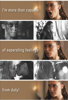 I'm more than capable of separating feelings from duty!