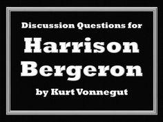 why did kurt vonnegut wrote harrison bergeron