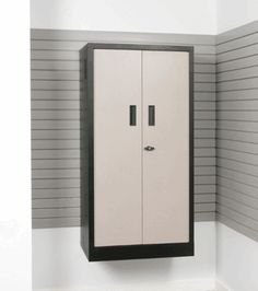 Wall Mounted Sandstone Metal Storage Locker