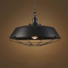 8a16791f633 Buy Adjustable Industrial Edison Vintage Cage Pendant Light - LITFAD 10 amp  quot  Classic Barn