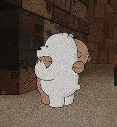ily when you hug me Mood Wallpaper, Bear Wallpaper, Cute Wallpaper Backgrounds, Cute Cartoon Wallpapers, Aesthetic Iphone Wallpaper, Galaxy Wallpaper, Ice Bear We Bare Bears, We Bare Bears Wallpapers, Disney Phone Wallpaper