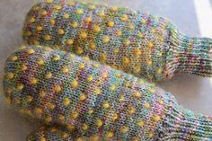 My Zenitude: Thrummed mittens