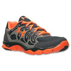 Men's Under Armour Engage Running Shoes | Finish Line | Grey/Orange