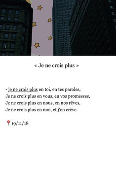 Good Quotes For Instagram, French Quotes, Bad Mood, Best Quotes, Texts, Sayings, Sad, Citation Vie, Handsome Quotes