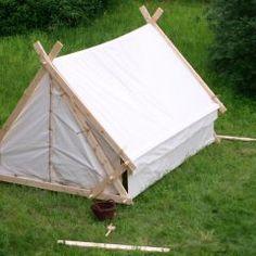 MyMajorCompany - Soutenez Quert Creation, l'art sur le cuir Viking Tent, Viking Camp, Camping Glamping, Camping Hacks, Outdoor Camping, Survival Shelter, Camping Survival, Larp, Vikings
