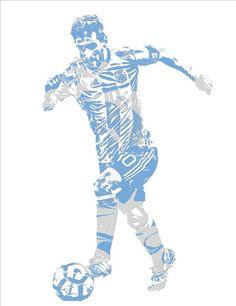 dbb690900d6 Lionel Messi F C Barcelona Argentina Pixel Art 4 Art Print by Joe Hamilton