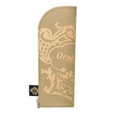 New! Orobianco trystramsPencil case THV-MC05K Gold KOKUYO japan 1449