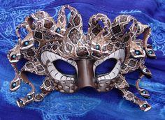 Rattlesnake Medusa Mask by *merimask on deviantART