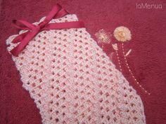 Manopla de baño crochet