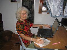 Virtual Volunteer Linda   by Mundo Exchange Volunteer and Intern Photos