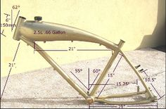 Authentic Grube  GT5  Aluminum bicycle frame (New Style)