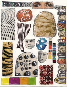 Zetti collage sheet by angellea (glitterbug), via Flickr ~ page of free to use collage sheets for Zetti Images ;)