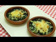 Receta fácil y rápida de acelgas salteadas y gratinadas - YouTube Fun Cooking, Healthy Recipes, Healthy Meals, Mashed Potatoes, Lunch, Dinner, Ethnic Recipes, Moda Emo, Youtube
