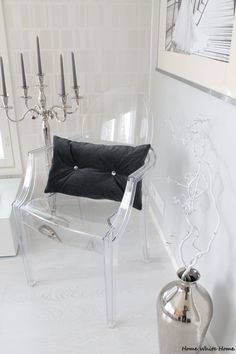 Kartell Louis Ghost - Home White Home