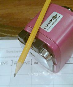 Win a Classroom Friendly Supplies pencil sharpener...ends 4/22