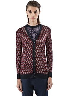 Women's Knitwear - Clothing | Shop Now at LN-CC - Metallic Jacquard Knitted Cardigan