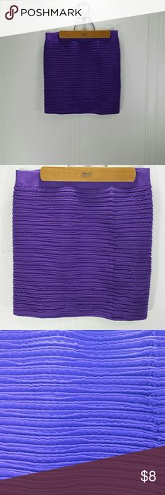 Sexy Tight Purple Spandex Mini Skirt Stretchy Size: women's small  Fabric: Spandex Condition: very good Skirts Mini