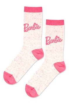 Barbie Logo Ankle Socks